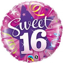 "MYLR Sweet 16 Shining Star 18"""