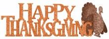 Happy Thanksgiving Centerpiece