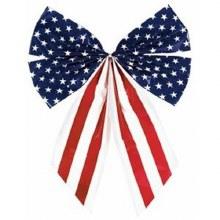 """Stars & Stripes Bow 10""""x7"""""""
