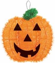"Pumpkin Decor Tinsel 13""x12"""