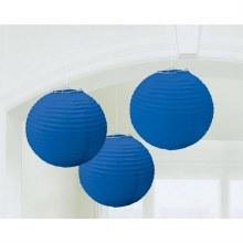 Lantern Royal Blue 3pk