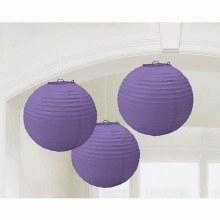 Lantern Purple 3pk