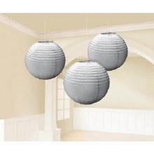 Lantern Silver 3pk