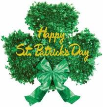 Shamrock Happy St Pats Tinsel