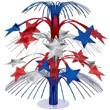 Centerpiece Star Foil Red/White Blue