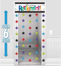 Officially Retired Door Curtain