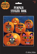 Pumpkin Decor Sticker Book