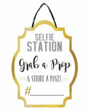 Photo Booth Selfie Sign