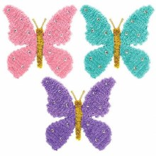 Butterfly Tinsel w/ Gems