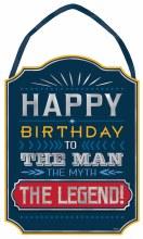 Birthday Man Sign