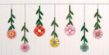Bright Florals Hang Decor