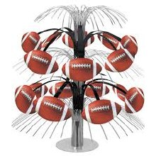 Football Centerpiece 14in