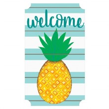 Pineapple Welcome Sign Lg