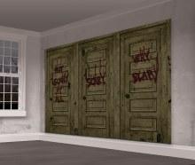 "IT Chapter Two Doors Scene Setter 5'5""x5'5"""