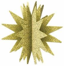Centerpiece 3-D Starburst Gold