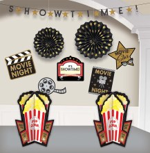 Movie Night Room Decor Kit