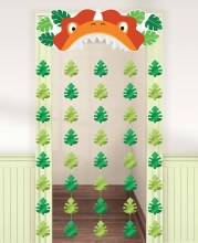 Dino-Mite Party Door Curtain