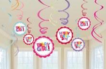 Whirl Decor Happy Birthday Gir