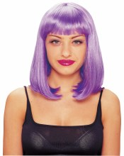 Wig Peggy Sue Purple DLX