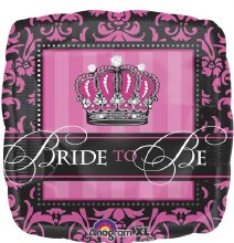 Blln Foil 18in Bride to Be