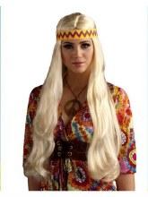 Wig Hippie w/Detach HB Blnd