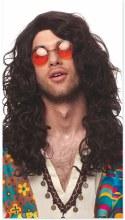 Wig Hippie-Rock Brn