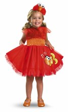 Elmo Frilly Toddler Med 3T/4T