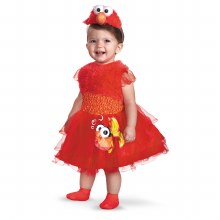 Elmo Frilly Toddler Sm 2T