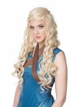 Wig Medieval Princess Blonde