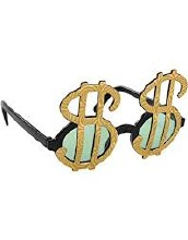 Dollar Sign Sunglasses
