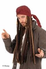 Jack Sparrow Scarf w Dreads