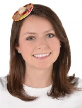 Sombrero Mini Hair Clip