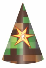 TNT Party Cone Hats