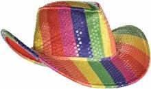 Hat Rainbow Cowboy