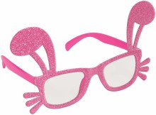 Glasses Easter Shaped Pink