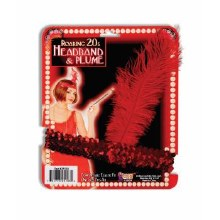 Headband Flapper Red