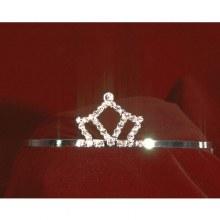 Tiara Mini Crown Rhnstne Slvr