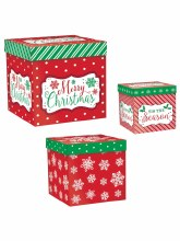Gift Boxes Pop Up Xmas Asst.