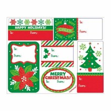 Gift Tags Holiday Asst