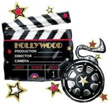 """Mylar 30"""" Hollywood Film"""