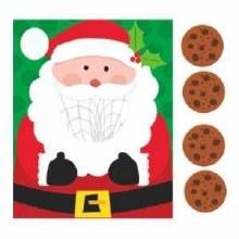 Santa Disc Toss Game