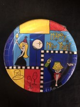 Bright New Year 7in Plate