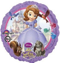 Blln Foil 17in Sofia the First