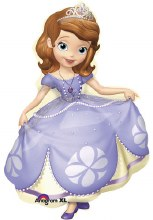 Sofia The First ~ 33in Character Shape