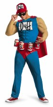 Duffman Classic Muscle Adlt