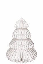 Tree Honeycomb w/Glitter 6pk