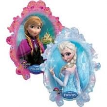 """Large Frozen Anna & Elsa Frame ~ 31"""""""