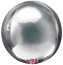 """Silver Orbz ~ 15"""""""