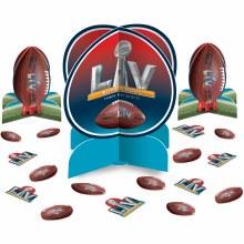 2021 Super Bowl Table Decorating Kit