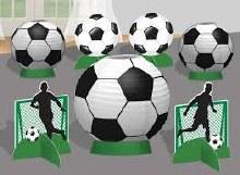 Soccer Centerpiece Decor Kit
